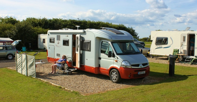 Touring Caravan - Super Pitch Upper 3