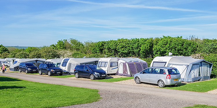 Touring Caravan - Super Pitch Upper 1