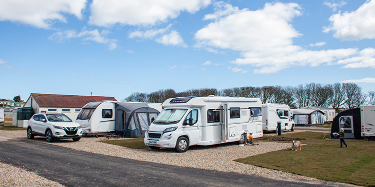 Touring Caravan - Super Pitch Lower 1