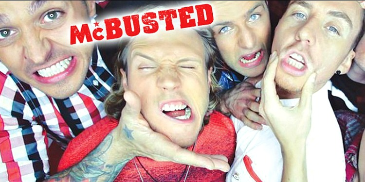 McBusted at Scarborough Open Air Theatre