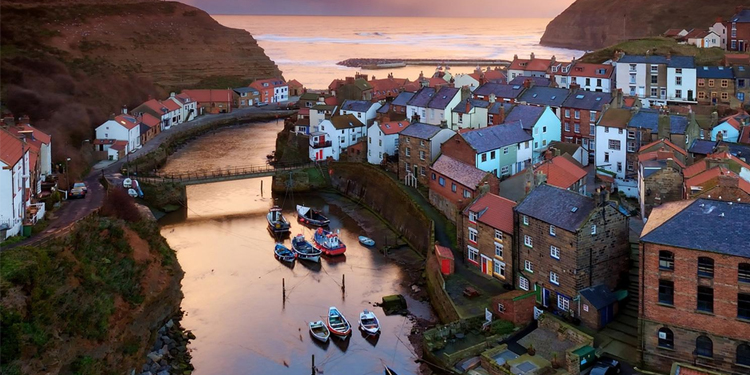 Staithes near Whitby