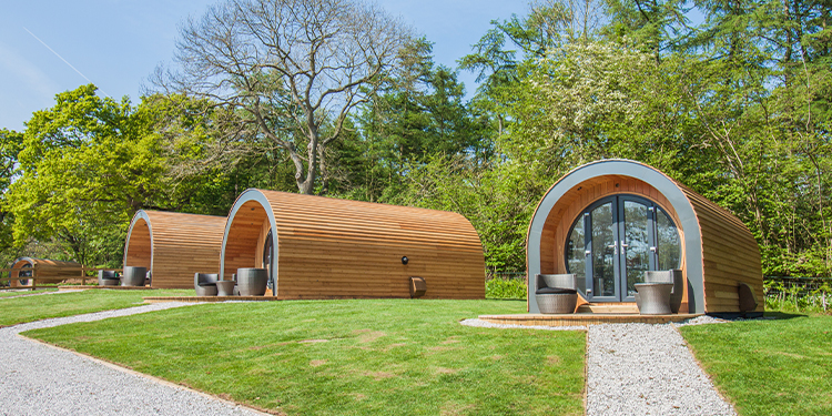 Luxury Glamping Pods