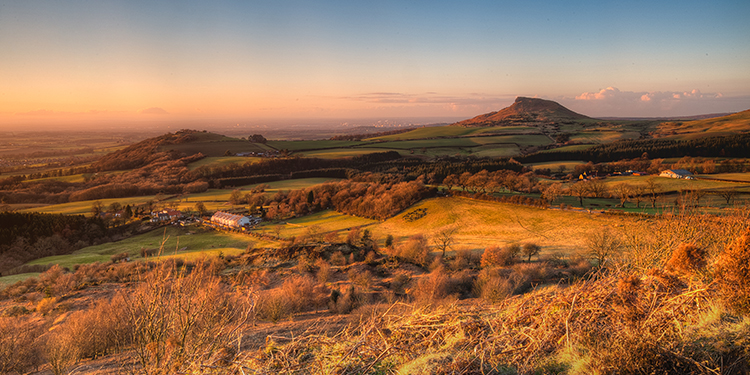 Rosebury Topping in the North York Moors National Park