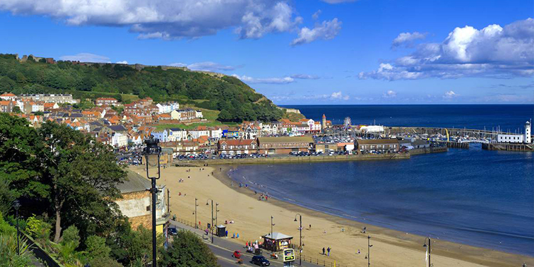 Scarborough South Bay - the traditional British beach