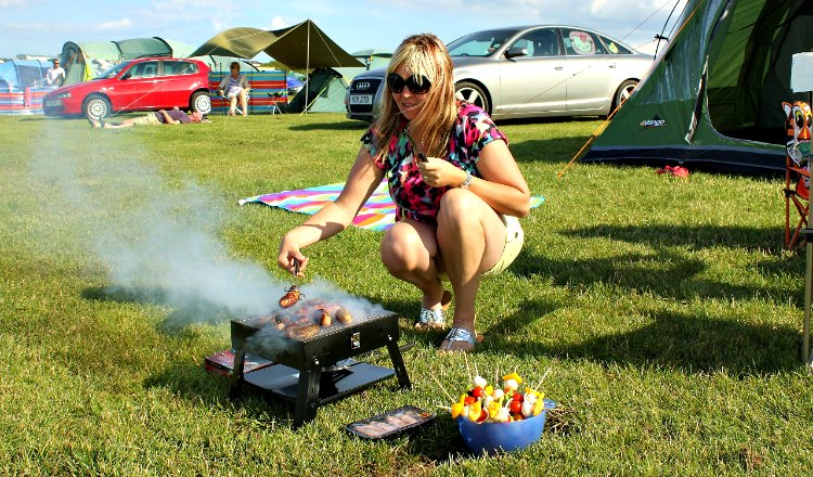 Safe camping with Crows Nest Caravan Park