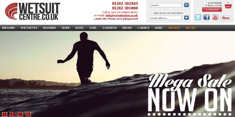 Need a Wetsuit?? Check out The Wetsuit Centre