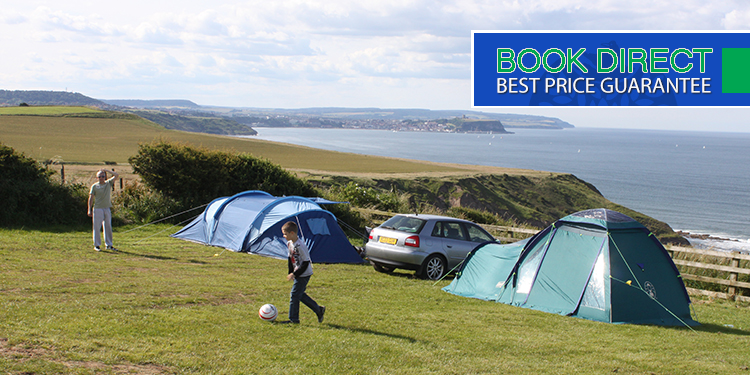 Enjoy fantastic views from our camping field...