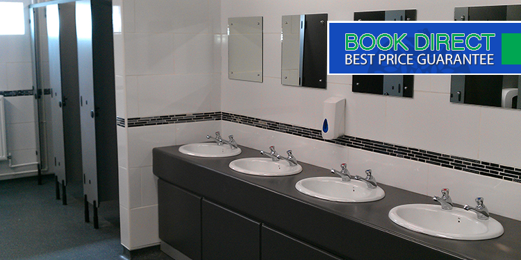 Award winning amenities block...